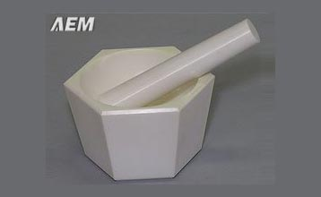 Zirconia Mortar and Pestle
